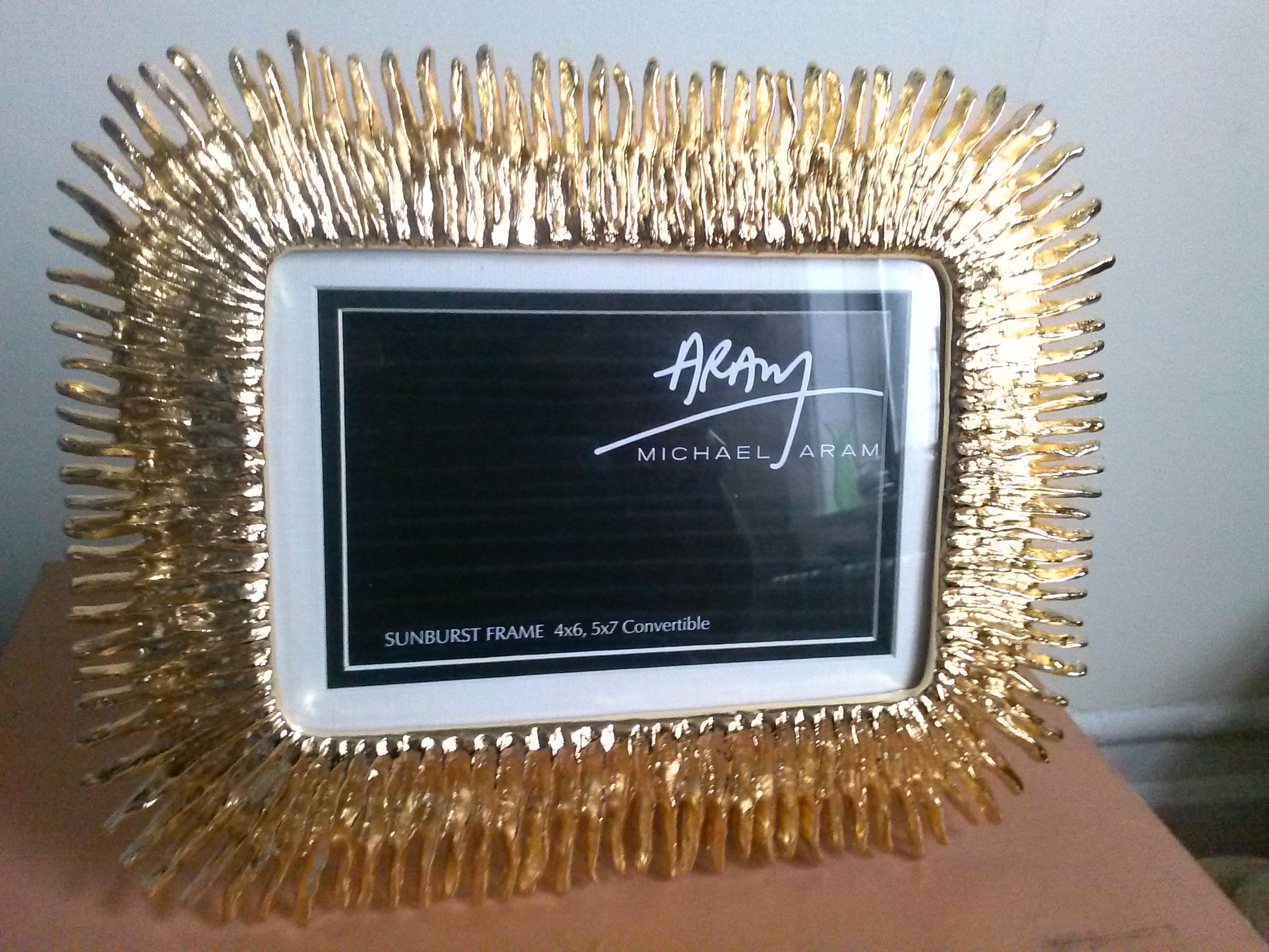 michael aram sunburst frame - Michael Aram Picture Frames