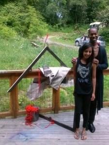 Blane and Shivani
