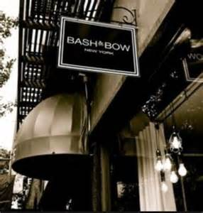 BASH & BOW New York