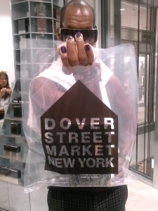 My First Purchase at DSMNY photo by Sabrina Reales