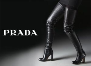 PRADA Thigh High Boot F/W2014